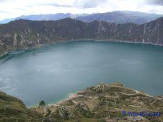Laguna Quilotoa, Equateur