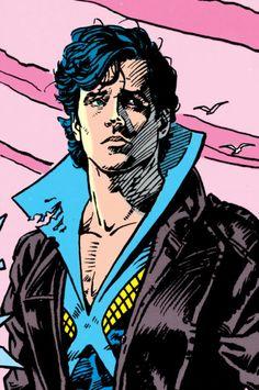 Dark Knight Living In The Light — dark-heir-apparent: bertinelli: the new titans. Nightwing, Batwoman, Batgirl, Tim Drake Red Robin, Robin Dc, Damian Wayne, The New Teen Titans, Richard Grayson, Comic Art