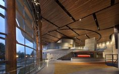 Arena Stage at the Mead Center for American Theater, Washington DC, U.S. Bing Thom Architects. © Nic Lehoux