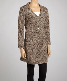 Look at this Ash Lace Collar Jacket on #zulily today!