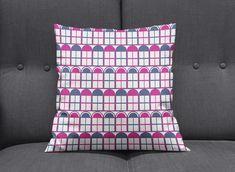 Teal cushions Teal home decor Striped cushions geometric Purple Throw Pillows, Teal Cushions, Bedroom Cushions, Geometric Cushions, Striped Cushions, Teal Bedroom Decor, Purple Home Decor, Blue Lamp Shade, Contemporary Cushions