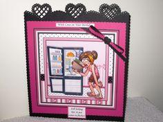 HOT FLUSHES 7.5 Humorous Decoupage & Insert Mini Kit - CUP790543_68 | Craftsuprint