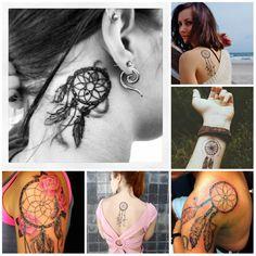 Dreamcatcher Tattoos Ideas 2016