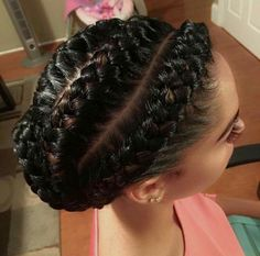 Pics Of Goddess Braids Picture 55 of the most stunning styles of the goddess braid Pics Of Goddess Braids. Here is Pics Of Goddess Braids Picture for you. Pics Of Goddess Braids have you tried this goddess braid hairstyle yet darling. Ghana Braids Hairstyles, Braided Hairstyles For Black Women Cornrows, Cool Braid Hairstyles, My Hairstyle, African Hairstyles, Black Hairstyles, Protective Hairstyles, Hairstyles 2018, Goddess Hairstyles