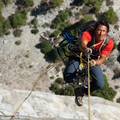 climbing pacific ocean wall conrad anchor | Mountain climbers scale some of the highest peaks in the world in ...