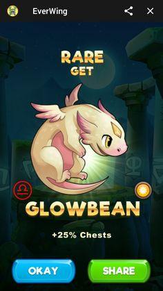 Dragon game idea Glowbean