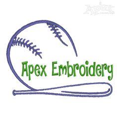 Baseball Embroidery Frame