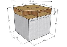 Ana white corner hutch plans for the twin storage beds diy projects corner twin bed Full Size Storage Bed, Twin Storage Bed, Bedroom Storage, Corner Twin Beds, Bed In Corner, Kids Corner, Corner Hutch, Corner Unit, Ana White