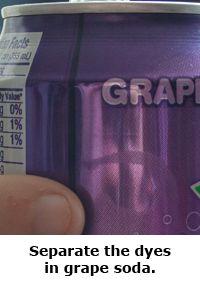 2014 Summer Science Guide: Grape Soda Chromatography