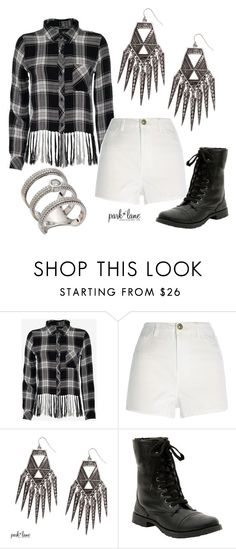"""Coachella"" by parklanejewelry on Polyvore featuring Rails and River Island"