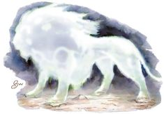 Gato Infernal (Bezekira) - Silenciosamente, denotando graça e poder, uma criatura emerge da trilha à frente. Ela tem a forma de um enorme leão, mas consiste de luz ofuscante e faíscas ígneas, como se seu corpo fosse composto de energia, e não de carne e ossos. O Bezekira mede em torno de 2,70 m de comprimento e pesam cerca de 450 kg.