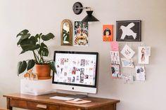 Einrichtung und Organisation im Home Office Web Design, Home Design, Design Ideas, Creative Design, Studio Design, Design Trends, Feng Shui, Suspension Metal, Decoration Inspiration