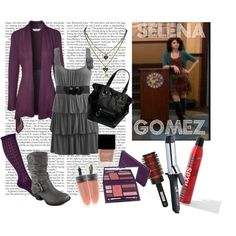 """""""Style for less :: Selena Gomez / Alex Russo"""" by doublehelix on Polyvore"""