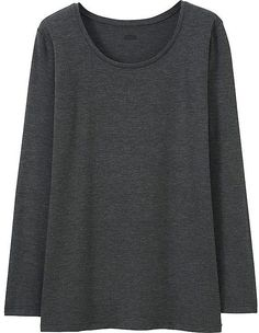 Uniqlo Women's Heattech Crewneck T-Shirt