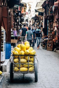 The Medina in Fez, Morocco via Artful Desperado