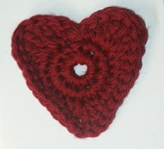 Cute Crochet Heart Patterns for Any Project: NEW! Basic Crochet Heart Applique