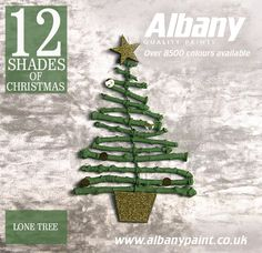 Lone Tree from Albany Paint.  www.albanypaint.co.uk