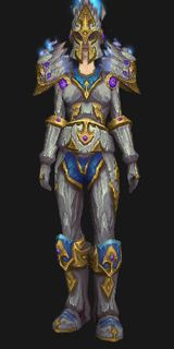 Reinforced Sapphirium Battlearmor (Lookalike) - Transmog Set - World of Warcraft