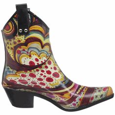 howtocute.com rubber cowgirl boots (08) #cowgirlboots