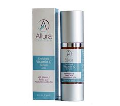 VITAMIN C SERUM Enriched with Hyaluronic Acid Vitamin E and Ferulic Acid Anti Aging Anti Wrinkle Protection Stimulates Collagen Production Reduces Scars and Age Spots ** To view further for this item, visit the image link.