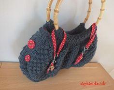 sac tricoté rangs raccourcis