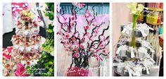 Un arbre à dragée ou une pièce montée ? http://www.drageeparadise.fr/blog/mariage-les-presentoirs-dragees/