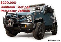 Oshkosh Tactical Protector Vehicle