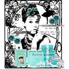 """Breakfast At Tiffany's"" by joanneteh32 on Polyvore"