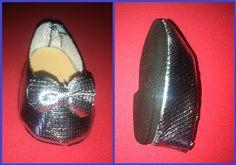 El costurero de mimbre: marzo .Zapatos brillantes.