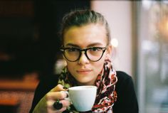 glasses and scarfs - timeless