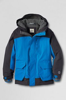 Boys' Waterproof Squall Parka from Lands' End