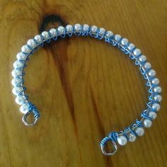 pearl-wired-silver-cuff-with-blue-wire