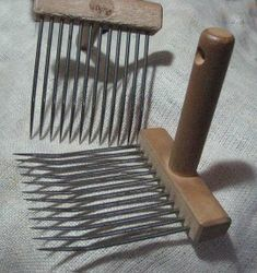 How to use viking combs