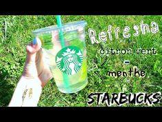 Refresha citron vert/ menthe de STARBUCKS - Léa cooking - YouTube