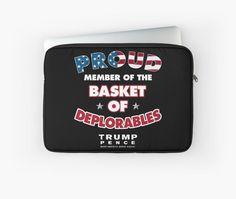 Proud Member Of The Basket of Deplorables Trump 2016 T-Shirt