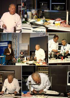 Apresentação do chef Jacques Le Divellec [2012]