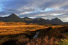 The Cuillins , Isle of Skye