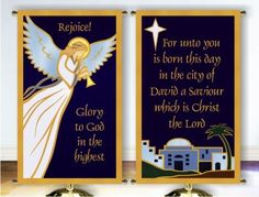 3' x 5' Christmas Church Banners