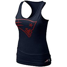 Nike New England Patriots Women s Big Logo Tank 8adce9270e67