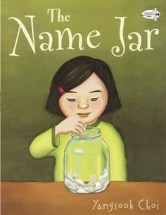 First grade teacher Carrie Fischer of Imperial, Missouri picks a first read aloud focused on names: During the first week of school, I read a book called The Name Jar  by Yangsook Choi. After reading the book, each child takes their name home with a letter to their parents explaining the activity. Each child discusses with their parents how their name was chosen, and what follows are many art, literacy, and community building activities in class.