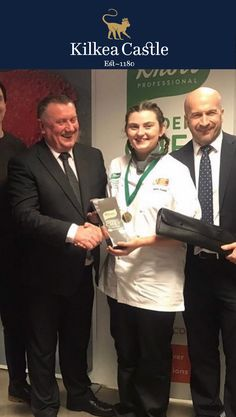 Congratulations to @mariadunne11 on winning the Knorr student chef of the year 2020. We are all very proud of her here at @kilkeacastle . Maria is currently working at Kilkea in restaurant 1180 and was a key member of the team that helped us achieve the best hotel restaurant in Kildare.
