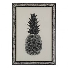THE prints by Marke Newton 29.7x42cm Pineapple Poster `One size Artist : Marke Newton * Authenticated by a stamp on the reverse, Comes in a frame-like enveloppe * Color : Black * Length : 42 cm, Width : 29,7 cm. * Details : RISO printing * Made in : Europe http://www.MightGet.com/january-2017-13/the-prints-by-marke-newton-29-7x42cm-pineapple-poster-one-size.asp