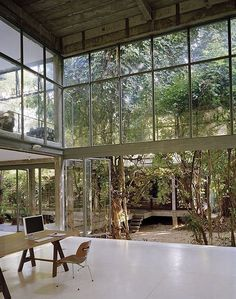 """""""One incredible space. Windows galore and I love how it opens up and connects the owner with nature."""""""