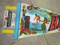 Vintage Tiki Collectible Hawaiian Islands Hawaii by kookykitsch, $14.00