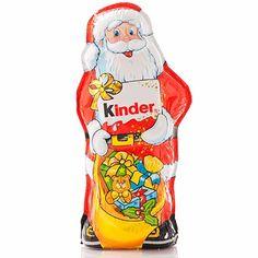 Ferrero Kinderschokoladen Santa (Kinder Chocolate Santa),