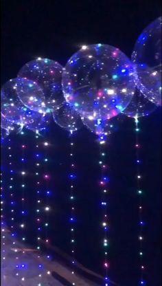 Neon Birthday, 16th Birthday, Birthday Parties, 15th Birthday Party Ideas, Club Parties, Neon Party Decorations, Birthday Decorations, Led Balloons, Ballon Helium