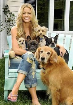 Celebrities with their Cute Pets  lolgallery.com