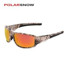 POLARSNOW 2018 Brand Polarized Sunglasses Camouflage Frame Sport Sun  Glasses Fishing Eyeglasses Oculos De Sol Masculino ec54a30076a5