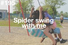 spider swing with me