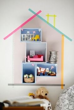 mommo design: IKEA HACKS - Forhoja dollhouse